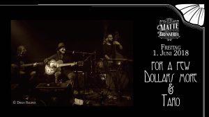 for a few Dollars more & Taro live @ Matte Brennerei | Bern | Bern | Schweiz