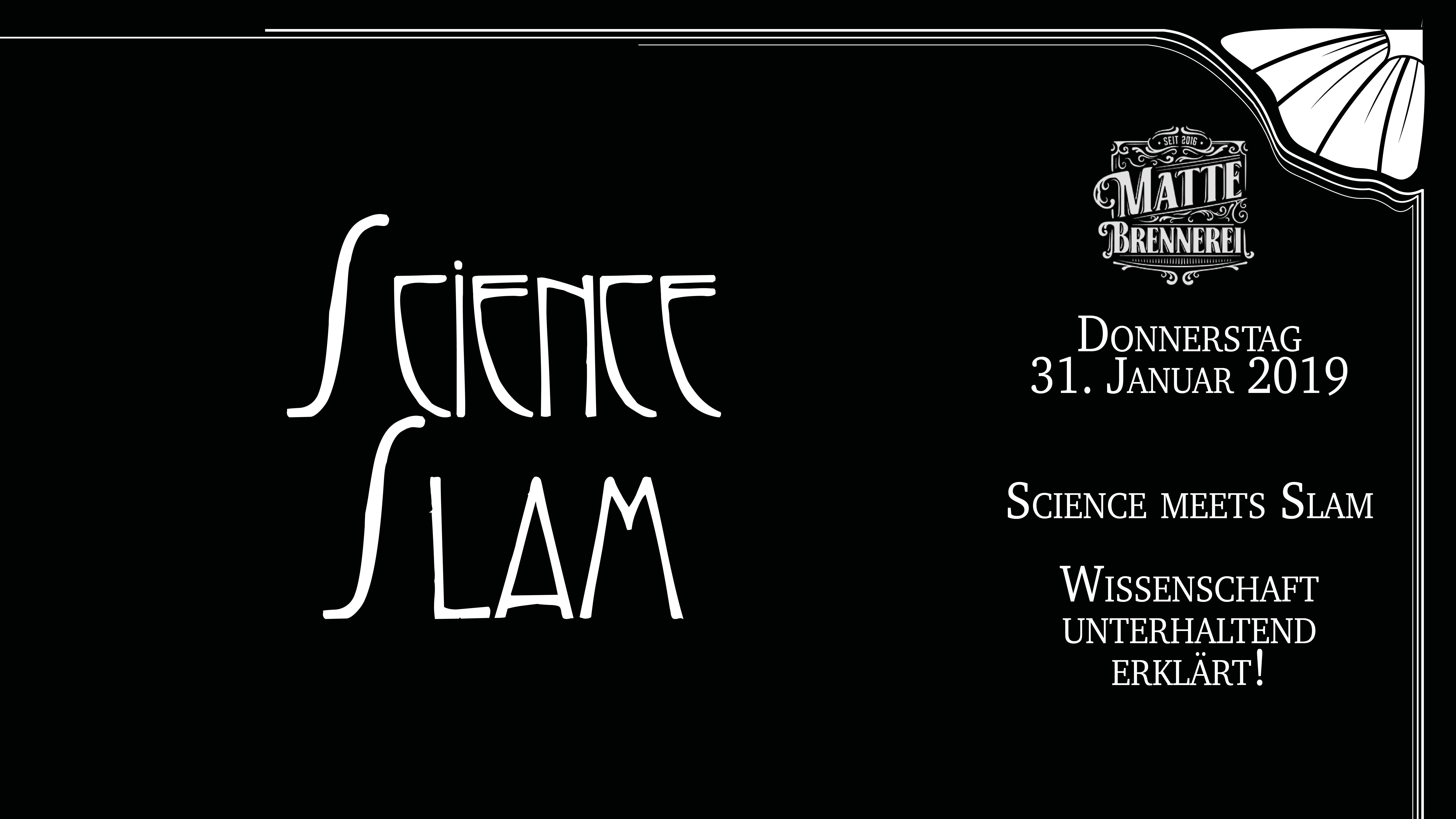 Science Slam @ Matte Brennerei