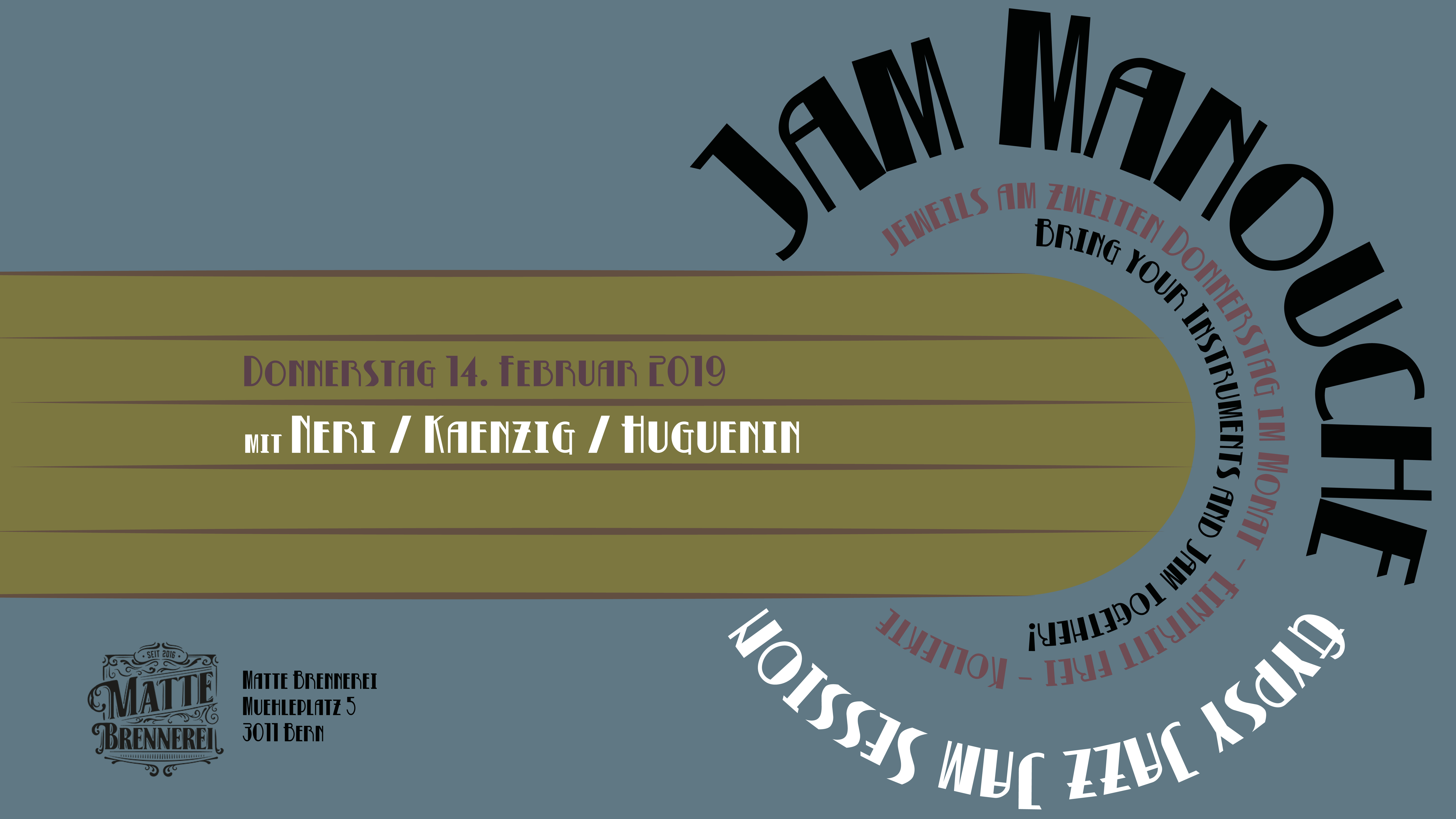 Jam Manouche @ Matte Brennerei